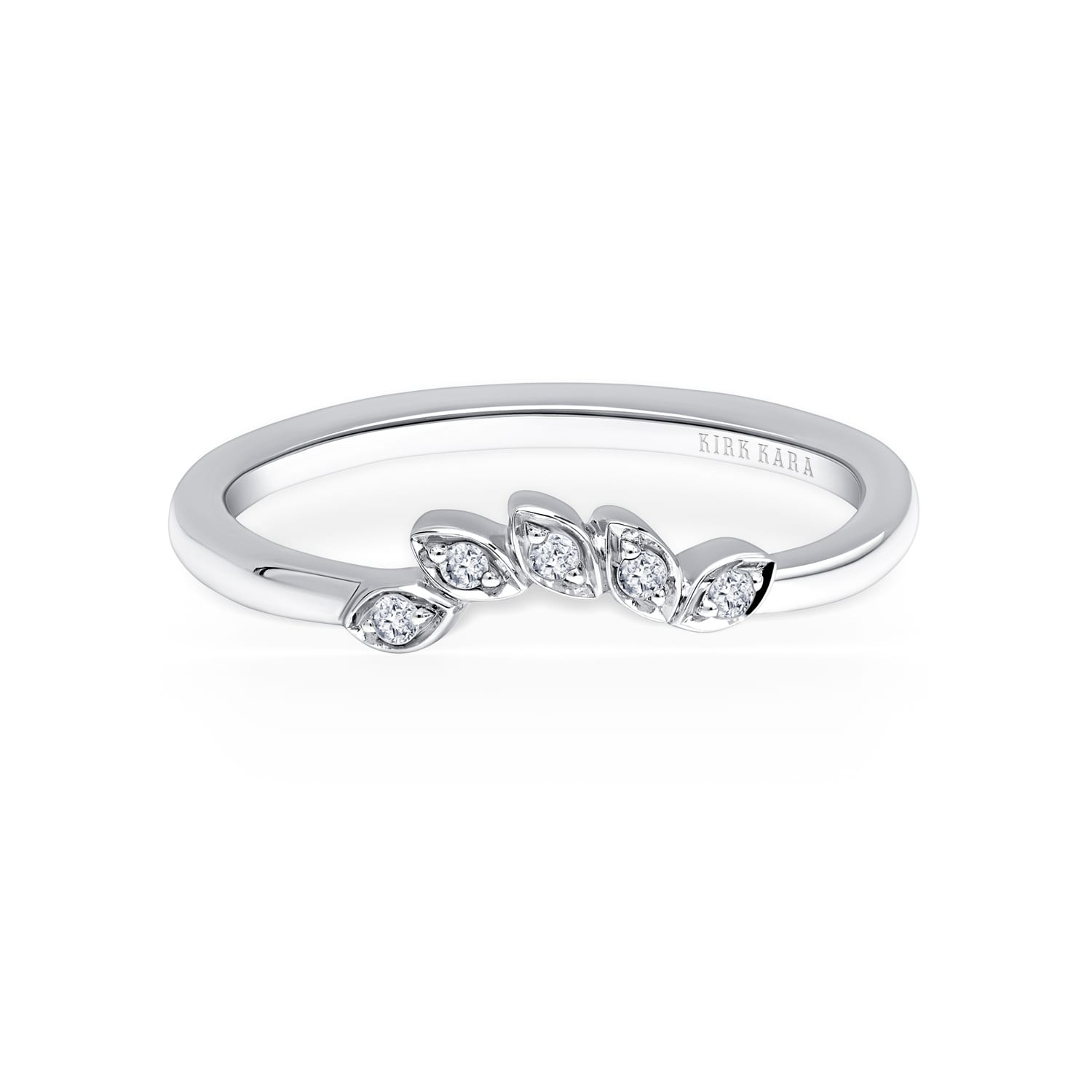 Kirk Kara Dahlia Collection K408R55R Engagement Ring Up 2